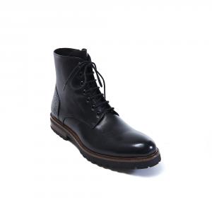 Plain Derby Boot Nero