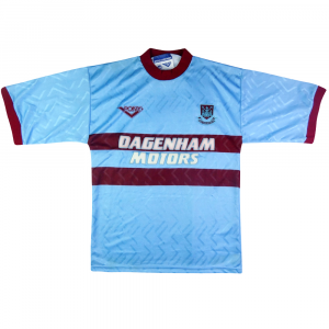 1993-95 West Ham Maglia Away S (Top)
