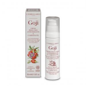 L'ERBOLARIO GOJI crema per il viso antiossidante e compattante con estratti biologici di bacche di goji e maqui