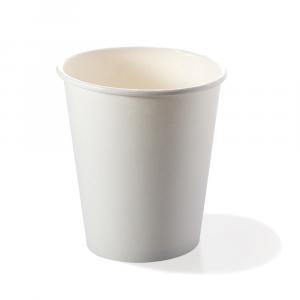 Bicchieri biodegradabili cartoncino 360ml bianchi