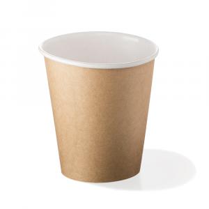 Bicchieri biodegradabili cartoncino 360ml Avana