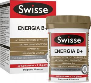 SWISSE ENERGIA B+ - INTEGRATORE VITAMINICO 50 COMPRESSE