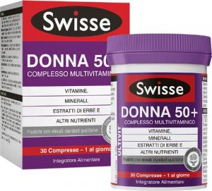SWISSE DONNA50+ - INTEGRATORE MULTIVITAMINICO PER DONNE DAI 50 ANNI 30 COMPRESSE