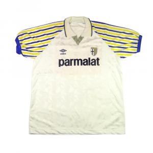 1990-91 Parma Maglia Home XL