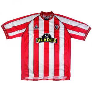 1999-00 Sheffield United Maglia Home L (Top)