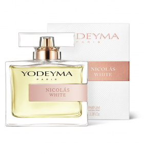 Yodeyma NICOLAS WHITE Eau de Parfum 100ml Profumo Donna