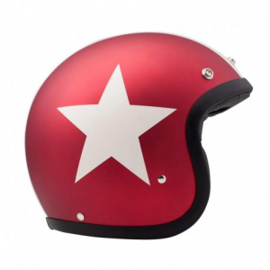 DMD VINTAGE STAR COMET Jet Helmet - Multicolor