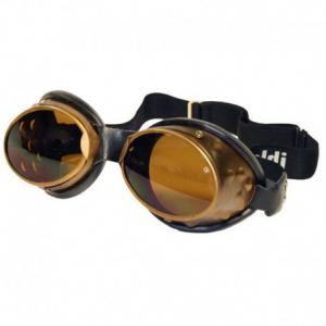 BARUFFALDI 101 OVAL Motorcycle Goggles - Brown