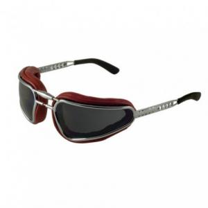 BARUFFALDI EASY RIDER Motorcycle Goggles - Red