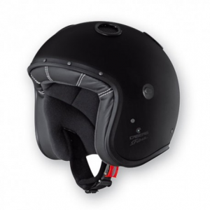 CABERG Doom Open Face Helmet - Black