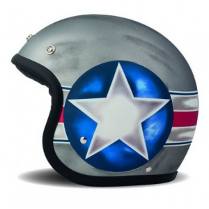 DMD VINTAGE FIGHTER Jet Helmet - Grey