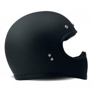 DMD RACER Full Face Helmet - Matt Black