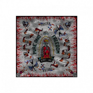 DMD RESPECT Motorcycle Scarf - Multicolor