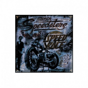 DMD SPEED RACE Motorcycle Scarf - Multicolor
