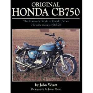FERRO29 Original Honda Cb 750 - Book