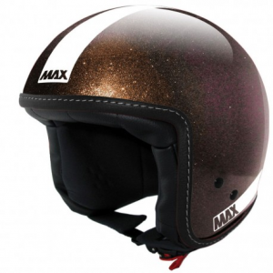 MAX Power Naked Open Face Helmet - Brown