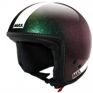 MAX Power Naked Open Face Helmet - Green