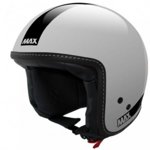 MAX Power Naked Open Face Helmet - Silver