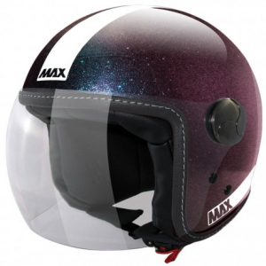 MAX Power Open Face Helmet - Blue