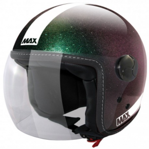 MAX Power Open Face Helmet - Green
