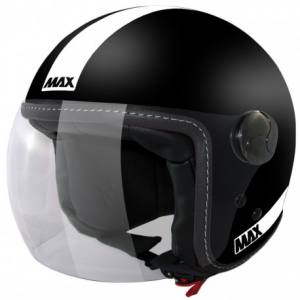 MAX Power Open Face Helmet - Black