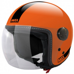 MAX Power Open Face Helmet - Orange