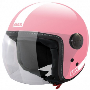 MAX Power Open Face Helmet - Pink
