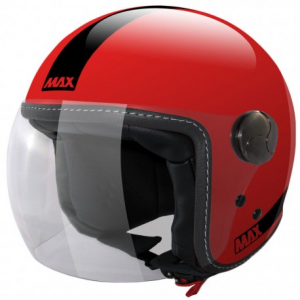 MAX Power Open Face Helmet - Red