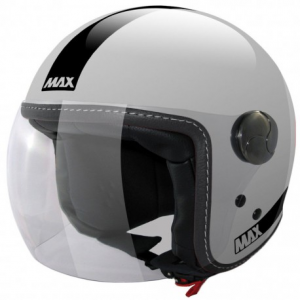 MAX Power Open Face Helmet - Silver