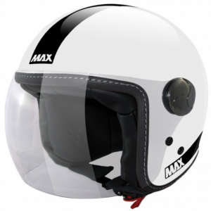 MAX Power Open Face Helmet - White