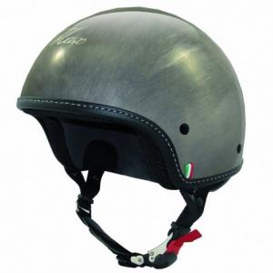 MAX Mini Scratch Cga Half Helmet - Chrome Steel