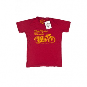 MOTO MORINI 125 Man T-shirt - Red