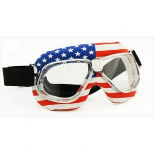 NANNINI Cruiser Flag Helmet Goggles - Usa
