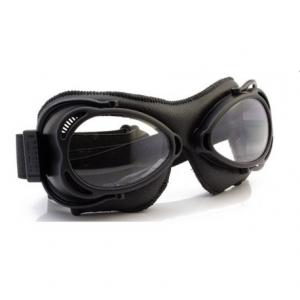 NANNINI Streetfighter Helmet Goggles - Black