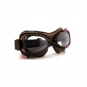 NANNINI Streetfighter Helmet Goggles - Brown