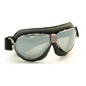 NANNINI TT Helmet Goggles - Ruthenium/Black