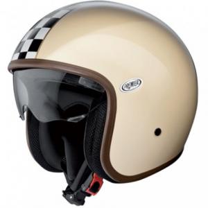 PREMIER Vintage CK Open Face Helmet - Cream