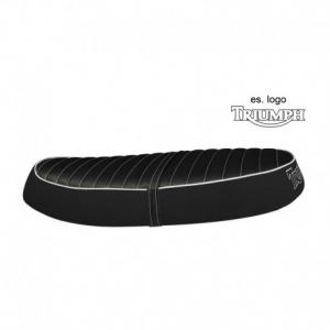 TAPPEZZERIA ITALIA Line Seat Cover for Triumph Scrambler - Black