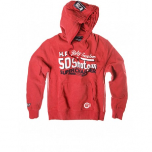 HOLY FREEDOM Shotgun Man Sweatshirt - Red