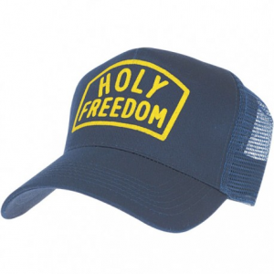 HOLY FREEDOM Worker Trucker Hat - Blue