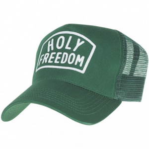 HOLY FREEDOM Boston Trucker Hat - Green