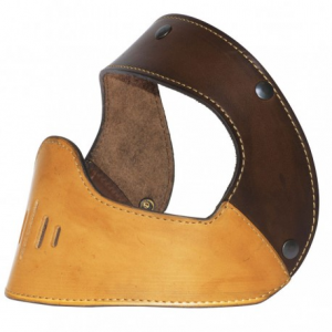 HOLY FREEDOM Grant Helmet Leather Mask - Brown