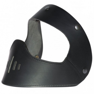 HOLY FREEDOM Bane Black Helmet Leather Mask - Black