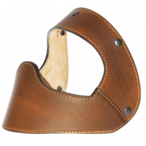 HOLY FREEDOM Fury Vintage Helmet Leather Mask - Brown