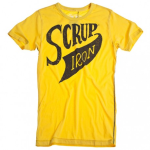 HOLY FREEDOM Scrup Man T-shirt - Yellow