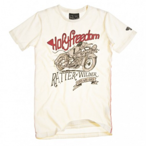 HOLY FREEDOM Ratter Man T-shirt - White