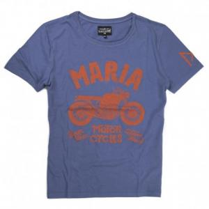MARIA RIDING COMPANY Boxer Twin Man T-shirt - Blue