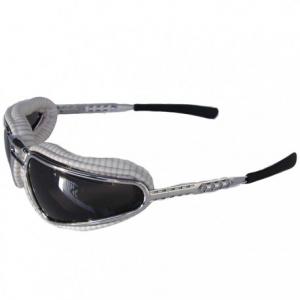 BARUFFALDI EASY RIDER Motorcycle Goggles - White