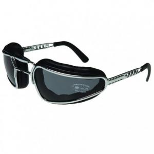 BARUFFALDI EASY RIDER Motorcycle Goggles - Black