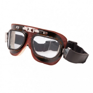 BARUFFALDI VINTACO Helmet Goggles - Chocolate Brown